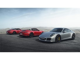 Porsche 911 GTS models - Group Shot