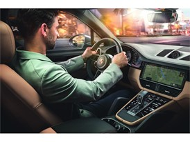 Porsche Cayenne with New Connect Functions