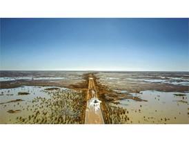 Das australische Outback nähe Birdsville