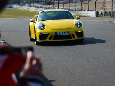 Nürburgring Nordschleife: New Porsche sports car over twelve seconds faster than the previous model 7 minutes, 12.7 seconds: The 911 GT3 sets a new best time
