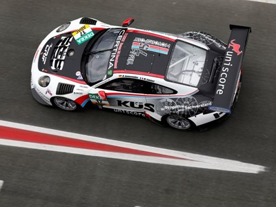 24-hour race at Spa-Francorchamps: Team75 Bernhard and Herberth Motorsport field three Porsche 911 GT3 R