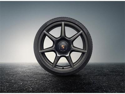 Braided carbon wheels