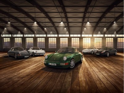 Techno Classica 2018: 70 years of Porsche Sports Car and 30 years of Type 964
