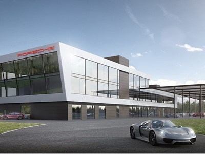 New Porsche Experience Centre at the Hockenheimring