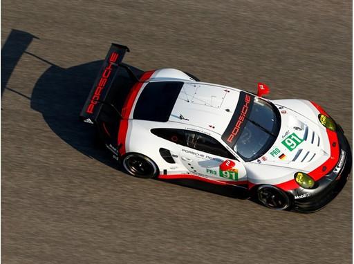 Porsche GT new 911 RSR