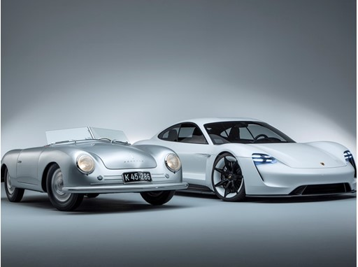 70 years of sports cars at Porsche