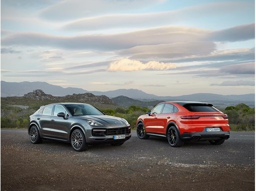 Porsche Cayenne Turbo Coupé and Cayenne Coupé