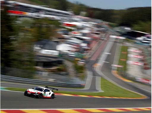 The Porsche 911 RSR at Spa