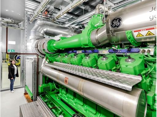 Porsche Cogeneration plants on biogas