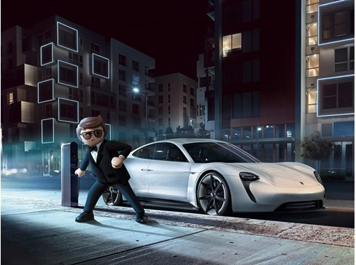 It is the first film project of Porsche and Playmobil. © 2019 - 2.9 FILM HOLDING - MORGEN PRODUCTION