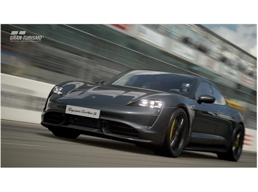 With the next update of the game, the Taycan Turbo S will be available in Gran Turismo Sport