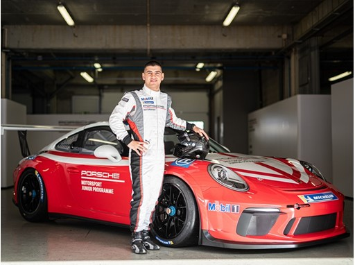 Ayhancan Güven is the new Porsche Junior in the 2020 Supercup