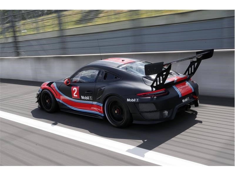 thenewsmarket.com  The rear of the Porsche 911 GT2 RS Clubsport