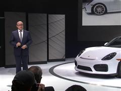 New York International Auto Show 2015: World Premiere of the Boxster Spyder - NEW VIDEO AVAILABLE