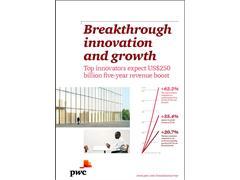 Top Innovators Expect US$250 Billion, Five-Year Revenue Boost