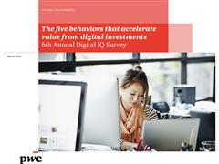 PwC Reveals the Results of the 6th Annual Digital IQ Survey