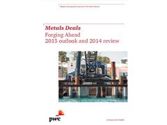 PwC Metals Deals Outlook: buyers and sellers to play a waiting game