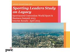 PwC Presents Interim Results of Sporting Leaders Study on Legacy at SportAccord Convention