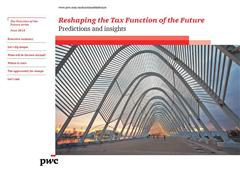 The tax function must transform to become a strategic business asset
