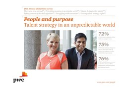 Changing expectations of key talent force CEOs to redefine their corporate purpose