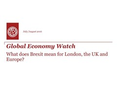 The potential economic impact of Brexit for London, the UK and Europe