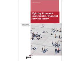 Fighting Economic Crime in the Financial Services sector (report cover)