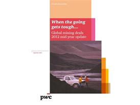 Market volatility leads to more subdued mining M&A activity: PwC report
