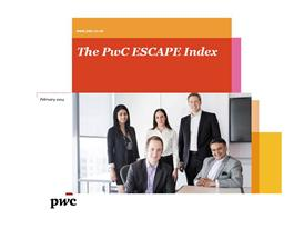 The PwC ESCAPE index
