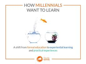 How millenials want to learn