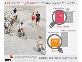 CEOs vs young leaders
