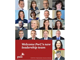 PwC's new global leadership team