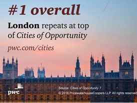 London repeats at top of Cities of Opportunity