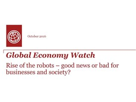 Global Economy Watch -- Rise of the robots