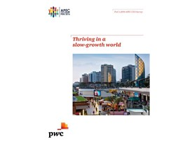Thriving in a slow-growth world -- APEC CEO Summit 2016