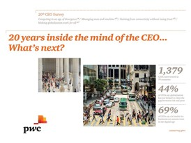 20 years inside the mind of the CEO . . . What's next?
