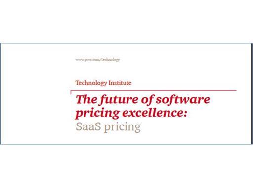 SaaS Software pricing