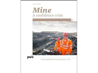 Flat revenues, falling profits and plunging share prices -- global mining industry faces a confidence crisis