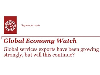 Worldwide value of services exports grows by average 6.5% over decade to reach $5 trillion