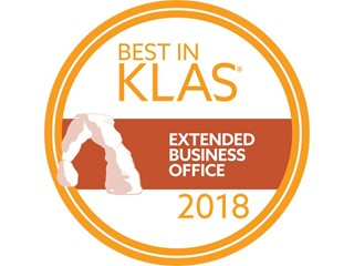PwC ranked 2018 Best in KLAS for Extended Business Office and named a 2018 Category Leader for CDI Services