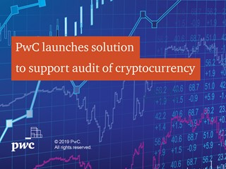 PwC launches solution supporting audit of cryptocurrency