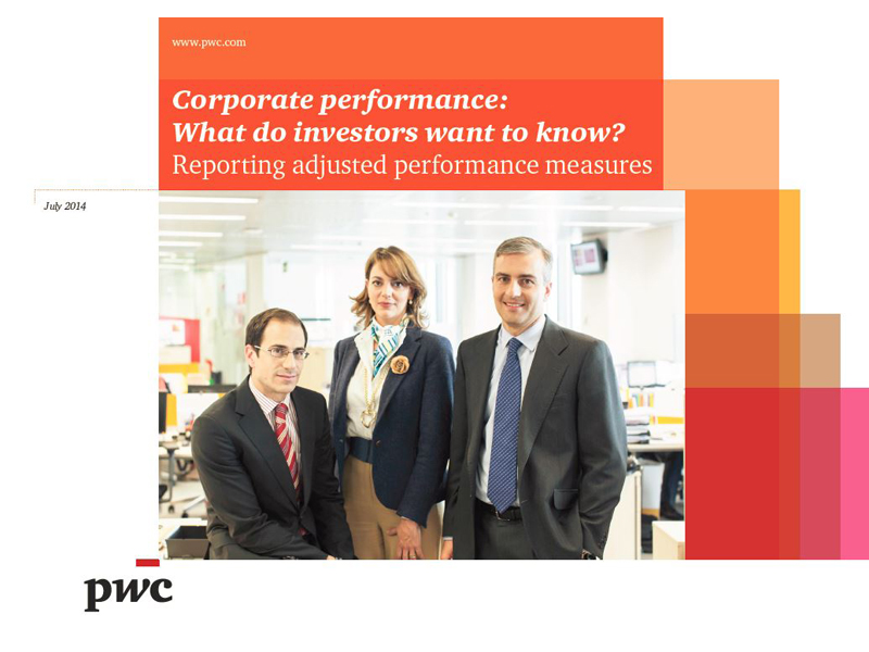 Corporate performace: What do investors want to know?