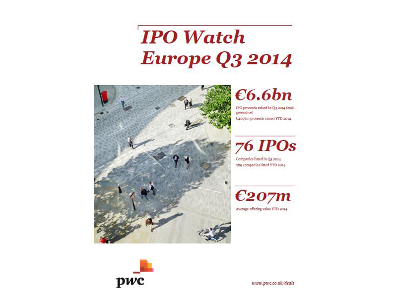 IPO Watch Europe Q3 2014 cov