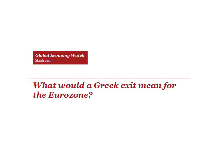 What would a Greek exit mean for the Eurozone?