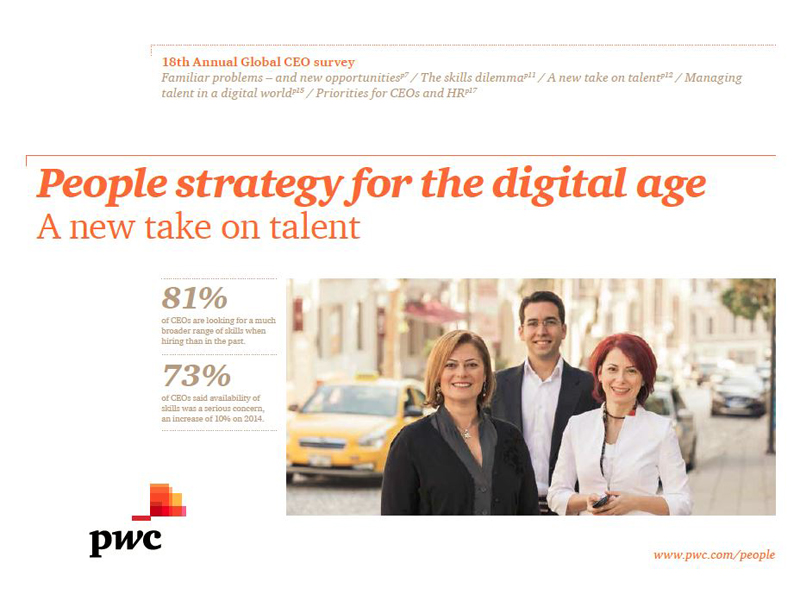 People strategy fro the digital age
