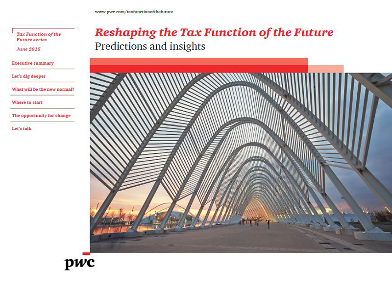 Reshaping the Tax Function of the Future