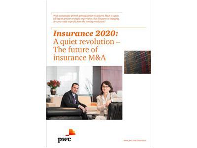 "PwC: Insurance M&A faces ""quiet revolution"""