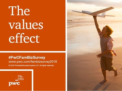 Strong values drive growth for family business amid disruption fears, finds PwC global survey
