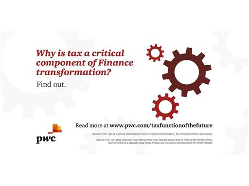 Why is tax a critical component of Finance transformation?