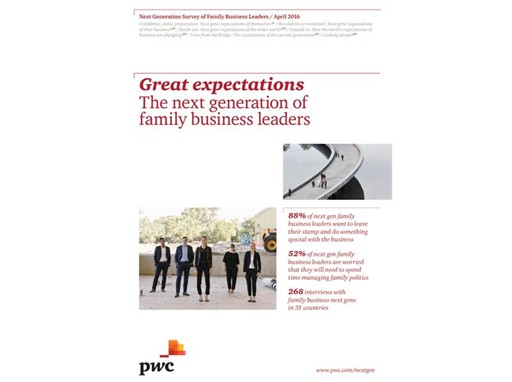 Great expectations: The next generation of family business leaders