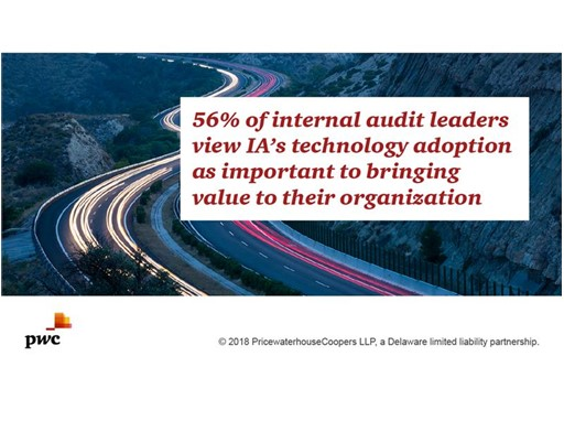 Image: PwC's 2018 State of the Internal Audit Profession report
